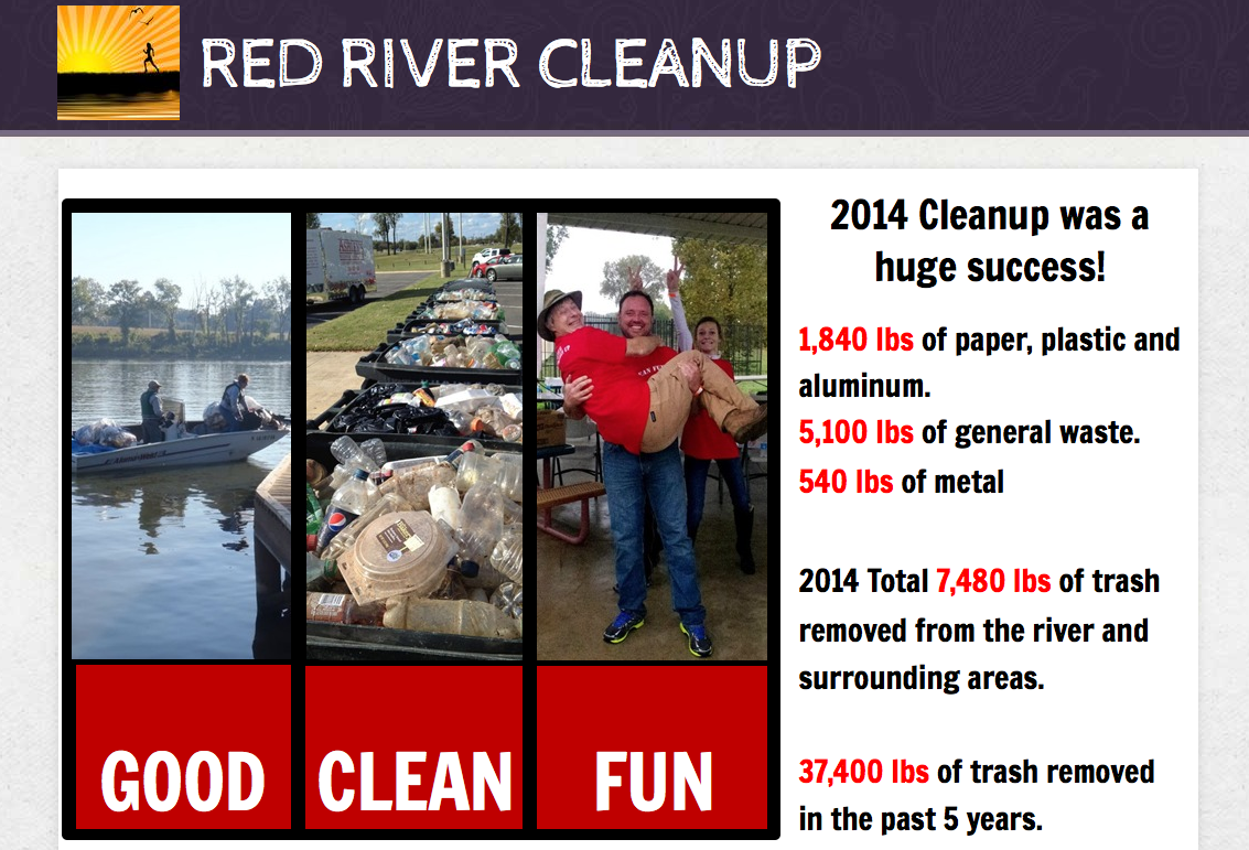 Red River Clean Up