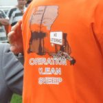 Clean.Operation Clean Sweep t-shirt