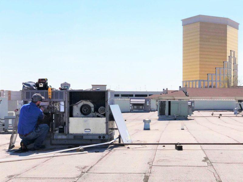 Commercial HVAC Service Bossier Shreveport Advanced AC