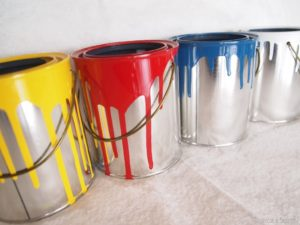 Used Paint Cans Advanced AC