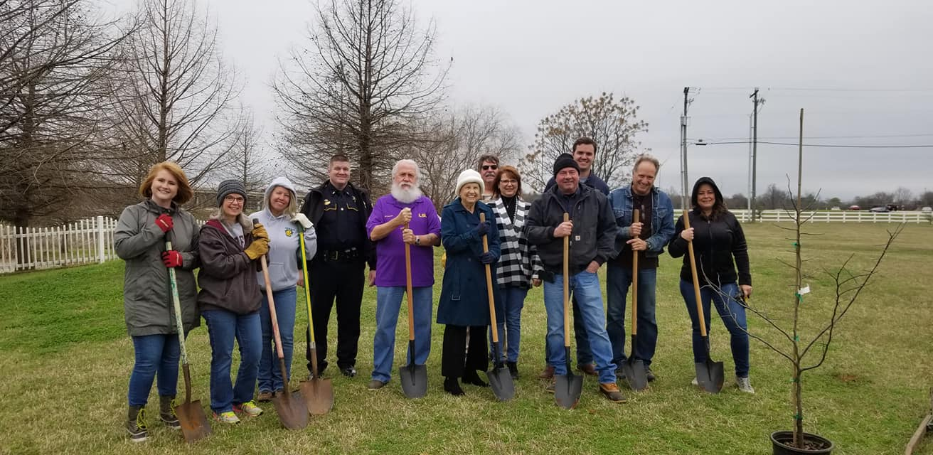Advanced Air Conditioning and Heating Inc Arbor Day Community Project and dedication 2