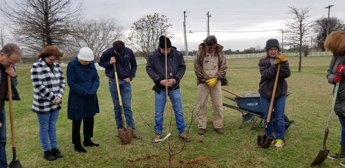 Advanced Air Conditioning and Heating Inc Arbor Day Commnity Project and dedication 3