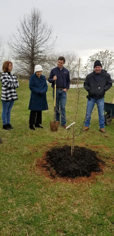 Advanced Air Conditioning and Heating Inc Arbor Day Community Project and dedication 4