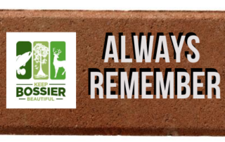 Keep Bossier Beautiful Remembrance Brick Everyday Hero